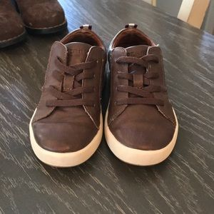 Sperry Brown Kids Shoes Size 9 Toddler